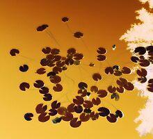 Orange 8-bit by Vanessa Prestage
