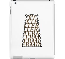 Doctor Who Dalek — EXTERMINATE iPad Case/Skin