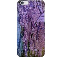 Sea of roofs in St. Emilion iPhone Case/Skin