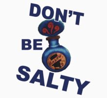 "Bioshock ""Don't be Salty"" Kids Clothes"