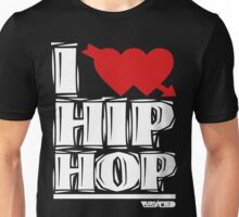 VURSAFIED - I LOVE HIP HOP (BLACK) Unisex T-Shirt