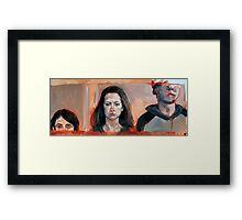 The Siblings Framed Print