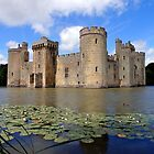Bodiam Castle, Sussex by mikebov