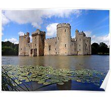 Bodiam Castle, Sussex Poster