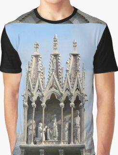 Above the Entrance to the Camposanto Monumentale Graphic T-Shirt