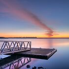DAWN, LAKE CONNEWARRE by Rick Knowles