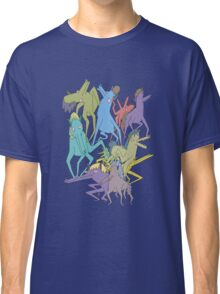 Horse on Horse on Horse Classic T-Shirt
