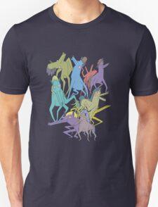 Horse on Horse on Horse Unisex T-Shirt