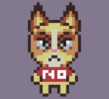 Grumpy Cat Animal Crossing Pixel by geekmythology