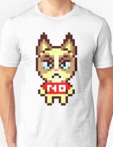 Grumpy Cat Animal Crossing Pixel Unisex T-Shirt