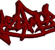 Graffiti Mazda MOB by kandikittin