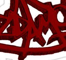 Graffiti Mazda MOB Sticker