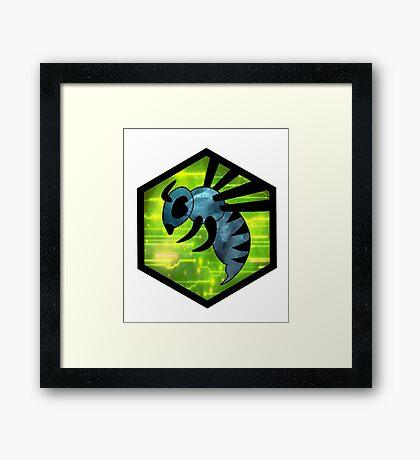 Be a Bee - Zorlon Cannon Logo Framed Print