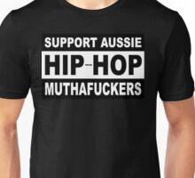 VURSAFIED - SUPPORT AUSSIE HIP HOP MUTHAFUCKERS Unisex T-Shirt
