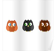 Owly Potter Poster