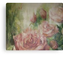 English roses Canvas Print