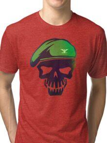 Rick Flag Graph Tri-blend T-Shirt