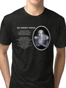 The Serenity Prayer 1 (for dark colors) Tri-blend T-Shirt