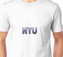 NYU New York Skyline Unisex T-Shirt