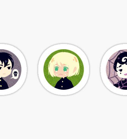 Yuu/Ren/Spinne Trio Sticker