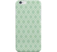 Chic Mint Moroccan iPhone Case/Skin