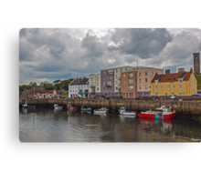 Harbour at St Andrews Canvas Print