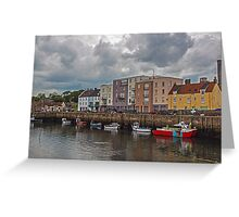 Harbour at St Andrews Greeting Card