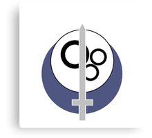 Brotherhood of Steel Logo - Minimalist Canvas Print