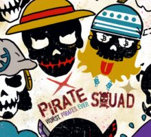 Pirate Squad Sticker