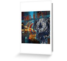 SUMMER IN THE CITY Greeting Card
