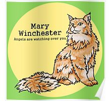 Mary Winchester - Mother and Hunter Poster