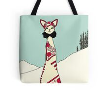 Lulu, Art Deco Cat Tote Bag