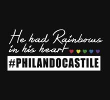Philando Castile - He had rainbows in his heart. by integralapparel