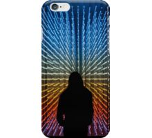 Silhouette in Lights iPhone Case/Skin