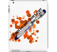 It Goes Ding When There's Stuff iPad Case/Skin