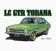 Holden LC Torana in green by UncleHenry