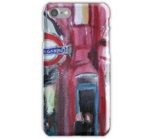 London Underground Covent Garden Tube Station Acrylic Painting iPhone Case/Skin