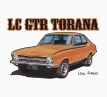 Holden LC Torana in orange by UncleHenry