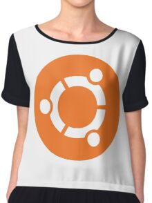 Ubuntu Linux Chiffon Top