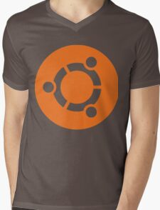 Ubuntu Linux Mens V-Neck T-Shirt