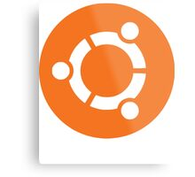 Ubuntu Linux Metal Print