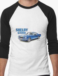 Ford Shelby Mustang GT350 Men's Baseball ¾ T-Shirt