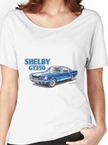 Ford Shelby Mustang GT350 Women's Relaxed Fit T-Shirt
