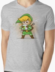 Cartridge of time Mens V-Neck T-Shirt
