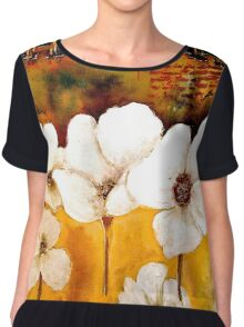 The Poppy Journals...The Five in White Chiffon Top
