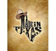 Made in Texas Photographic Print