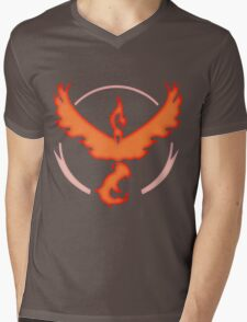 Team Valor | Pokemon GO Mens V-Neck T-Shirt