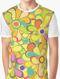 Retro Floral Graphic T-Shirt