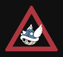 Danger Blue Shell by PowerArtist