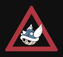Danger Blue Shell by PowerArtist